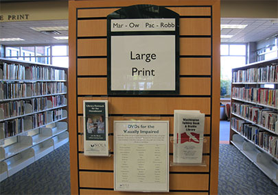 NOLS library large print