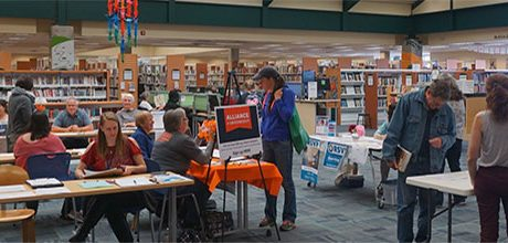 NOLS support the library