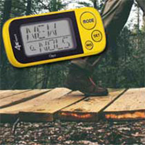 Digital Pedometer, Hiking