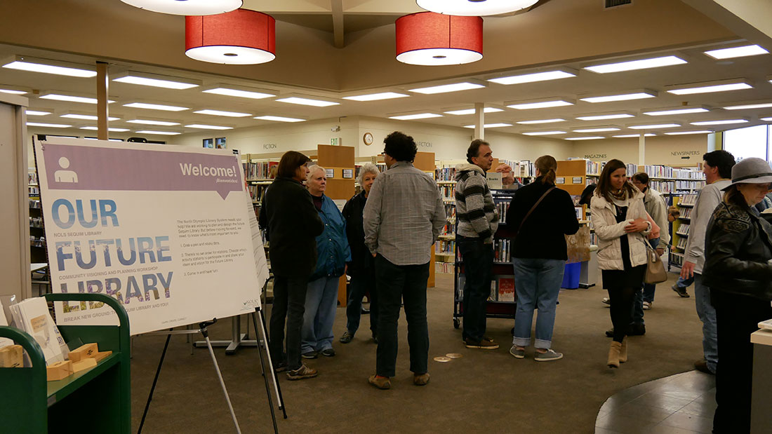 Future Sequim Library Project Open House