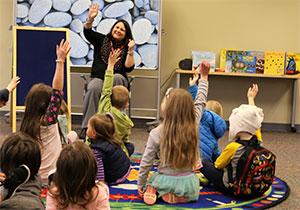 NOLS Kindergarten express storytime