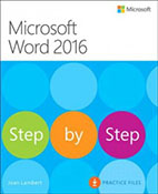 Microsoft Word 2016 : step by step