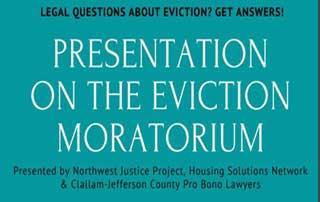 Presentation on the Eviction Moratorium