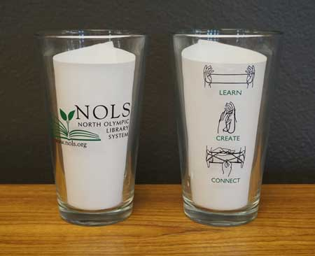 Tumblers Front and Back Graphics