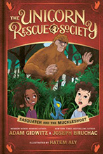 Sasquatch and the Muckleshoot book jacket