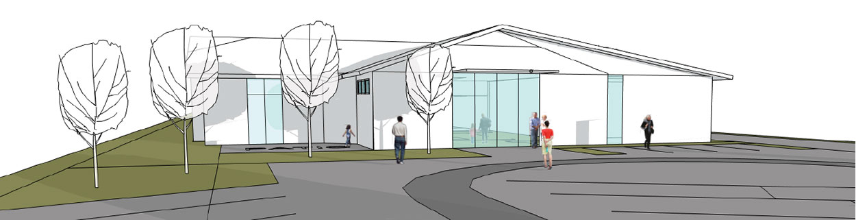 Sequim Library Project Concept Exterior